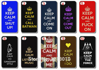 Phone case 10pcs Hot Selling keep calm Style Hard Back Cover Case For iphone 6  4.7 inch with Free shipping