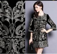 2014 New arrival women's autumn long coat O-neck flower embroidery half sleeve overcoat slim outwear plus size XXXL windbreaker