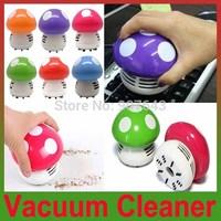 2014 New Mini Home Handheld Tabletop Vacuum Cleaner Mushroom Vacuum Car Laptop Dust cleaner Dropshipping
