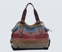 Free shipping! Fashion canvas bag handbag women's handbag 2014 women's shoulder bag messenger bag LS1700