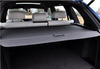 high quality Aluminum + canvas cargo cover 1pcs  BLACK   for BMW X5 2014 F15