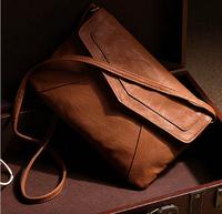 Envelope Bag Pu leather Women Handbag shoulder bags ladies small vintage crossbody sling messenger bag Purses Bolsas satchels