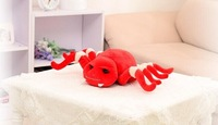 small size cute spider toy plush whimsy spider doll creative gift doll about 25x40cm