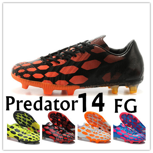 Red Predators Cleats Cleats Boots Predator 14