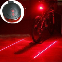 (5LED+2Laser) 7 flash mode Cycling Safety Bicycle Rear Lamp, waterproof Bike Laser Tail Light Warning Lamp Flashing(China (Mainland))