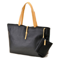 2014 free shipping Wholesale Retail 6 colors PU leather women Shoulder Bags women casual handbags with a Coin pocket