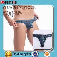 Better Discount Seemale Underwear Sexy Wj Gay Mens Thongs Calvin Klain Sexy Bikini For Men Thongs Men Sw4005-Dk
