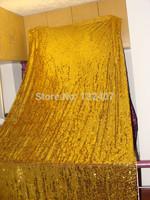 golden paillette for wedding backdrop 1.2width / wedding  backdrop  drapes curtain
