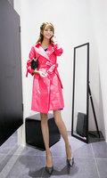 Fasot Women's Fall Joker Long Wrap Belted Trench Coat Flared Outerwear  Free Shipping