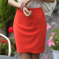 Free Shipping 2014 New Fashion short skirt female Knee Length Step skirt Women Business Summer OL Suit Pencil Skirt M008