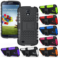 Armor Heavy Duty Hard Cover Case for Samaung Galaxy S4 Active I537 I9295 Cell Phone Cases 3 pcs/lot =( 1 Case + 1 Flim + 1 Pen )