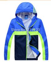 Hot sales 2014 NEW Man autumn Brand jacket Men's Sportswear Hoodie Jackets outdoor fashion Windbreaker Zipper Coats Plus M-4XL