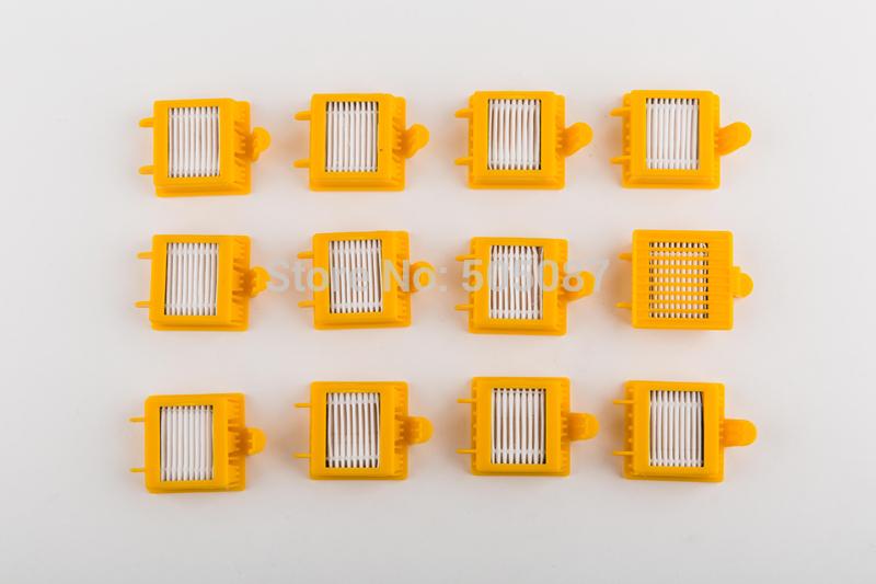 reposição 10 peças kit para irobot roomba 760 770 780 790 dupla aspiradores filtro hepa para roomba 760 770 780 790(China (Mainland))