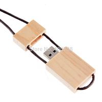 cut wooden usb real 2gb 4gb 8gb 16gb 32gb Wood USB Flash Drive USB 2.0 Memory Pen Memory Stick pen drive thumb drive  10pcs/lot