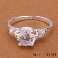 R523 Wholesale 925 sterling silver ring, 925 silver fashion jewelry, fashion ring /amlajdsa byrakpya