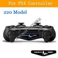 5 Pieces light bar vinyl skin sticker for Playstation 4 PS4 controller 220 model