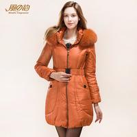 2014 new winter fashion slim longer down jacket down coat free shiping