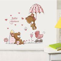 Bear Removable Vinyl Kids Baby Nursery Child Home Decor Mural Wall Sticker Decal
