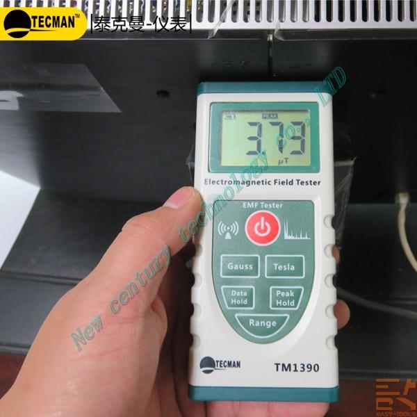 TECMAN TM1390 Electromagnetic Field Strength Detector EMF Meter ,Electromagnetic Radiation(China (Mainland))