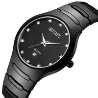 2014 new watches men luxury brand Motafe calendar waterproof quartz watch full ceramic relogio masculino business wristwatch