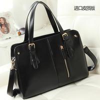 New arrive 2014 women bag OL outfit women's leather handbag shoulder bag platinum bags hot selling women bag