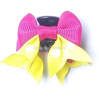 Free shipping Ribbon Bow Hair Baby Girl Bows Children Accessories Hair Clips for Girls Headwear Hairpins Hair Bows 20 pcs/lot