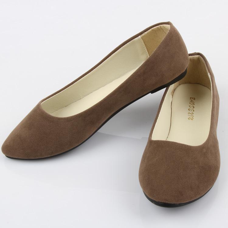 frete grátis nova moda primavera e outono plana documentário multicolor sapato todos- jogo camurça sapatos confortáveis(China (Mainland))