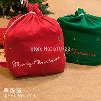 whole sales,Oversized Christmas gift bag Santa Claus, Christmas gift bag gift Christmas decorations
