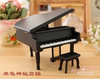 New Arrival 14*12*9CM Wooden Crafts Piano Music Box Girl Kids Gift Christmas Present New Years Valentine's Day Gift