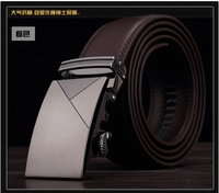 Free shipping the new belt men's automatic belt buckle smooth high-grade belt