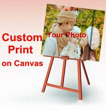 Sus imagen, familia , amigos o la foto del bebé , imagen favorita impresión de encargo en Pintura Lienzo envio Casa Decorar gratuito(China (Mainland))