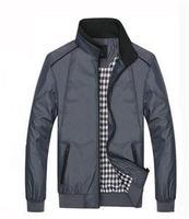 2014 New Winter Korean Slim Men's Jacket Coat Outwear Autumn Brand Men Stand Collar Zipper Jacket Coats