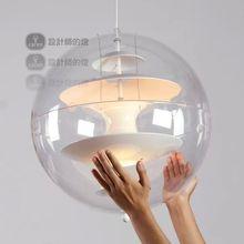 Verner Panton VP Globe for pop master Panton transparent acrylic ball pendant lamp(China (Mainland))