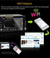 City / / Fit  / Jazz  / Stream  / Everus Android 2 DIN Autoradio Receiver Analog TV IPOD HD 1080P GPS AM/AM BT AUX WIFI/3G