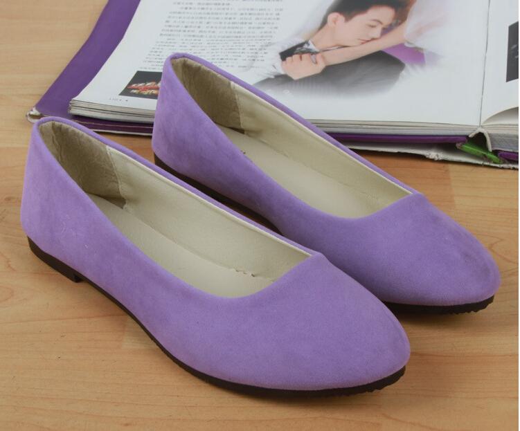 16 cores \ 35-40 EURO tamanho do novo sapato documentário plana cúspide mulheres sapato multicolor tudo match camurça sapatos confortáveis(China (Mainland))