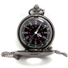 Número romano de época Moda Unisex Cuarzo Steampunk reloj de bolsillo P427(China (Mainland))