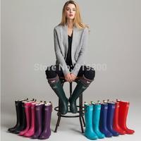 Brand New Women Fashion Rubber Tall/ Short Rain Boots Flat Heels Anti-slip Waterproof Rainboots Buckle Water Shoes #TS181