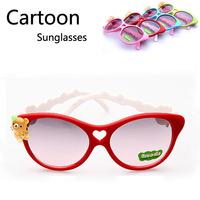 Wholesale Cartoon Children Bear Butterfly Sunglasses Kids Playing Summer Eyewear