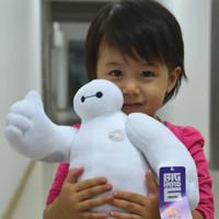 New products The BIG Heros 6 Baymax plush dolls, The Frozen OLaf snowman Baymax stuffed animal plush free shipping