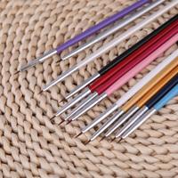 Nail Brushes Colorful Nail Art Design Painting Tool Pen Polish Brush Set Kit DIY Professional nail tools  12pcs
