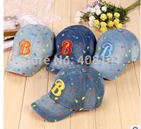 Baby letter cowboy baseball cap Children's hat