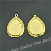 35 pcs Charms Frame Pendant  Gold color  Zinc Alloy Fit Bracelet Necklace DIY Metal Jewelry Findings JC580