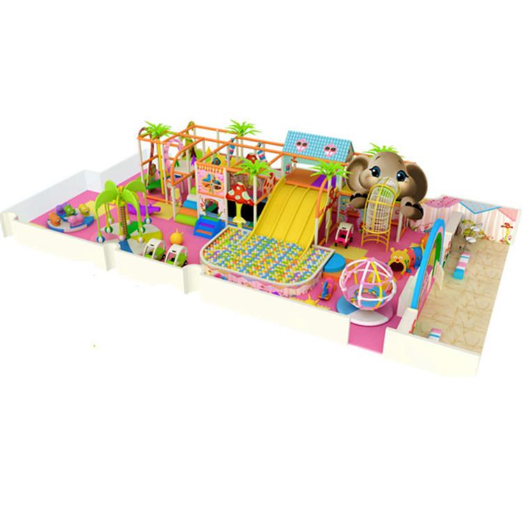 Indoor preschool playground equipment indoor playground for Indoor gym equipment for preschool