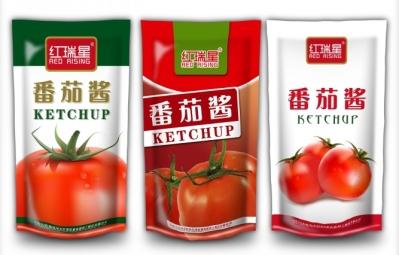 Popular New Tomato Sauce Packing Machine Filling Volume Adjustable Automatic(China (Mainland))