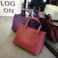 2015new winter leather handbags ladies handbag Shoulder Messenger bag commuter leisure