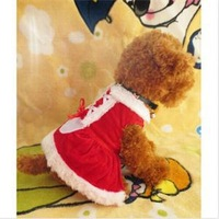 2014 New HE Practical Pet Puppy Dog Christmas Clothes Pet Outwear Coat Apparel Hoodie EH