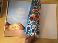 Fireman Sam shipping children educational toys cartoon boY sticker /Sticker Book / kids gift for boys SAM