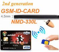 2014 Earpiece Wireless 4.5 Watt Amplifier 330 GSM BOX Credit ID Card GSM SIM CARD Customized DHL Free Shipping