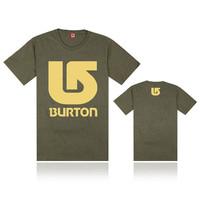 Fashion Casual BURTON t-shirts Pure Cotton Short Sleeve element tshirts Men burton t shirt summer hot selling cheap tee shirt