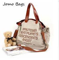 2014 New Hotsale Hot sell women's letter Casual Canvas Bag Women's Messenger Bags Handbag Free shippment factory price z3166